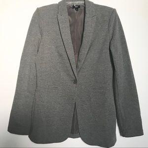 Mossimo Gray T-Shirt Oversized Blazer Jacket
